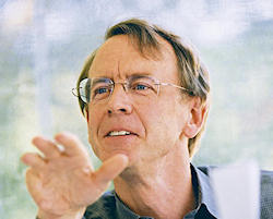 John Doerr spoke at the TED conference in March 2007