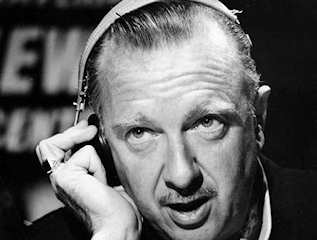"Walter Cronkite, who died at age 92, was the ""most trusted man in America"""
