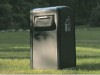 BigBelly compactor uses solar energy to compress garbage