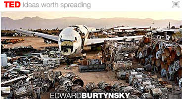 The TED Prize allowed Edward Burtynsky to express his environmental wishes; click for video