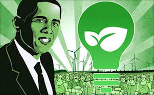Is Obama green enough?