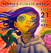 People's Climate March, Sept 21, 2014 in NYC, USA