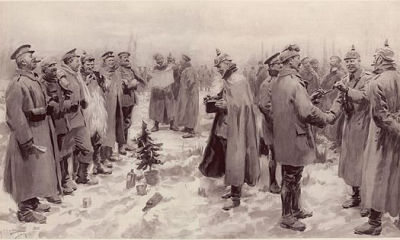 Christmas Truce in 1914 (World War 1)