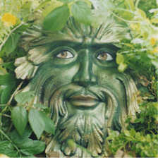 The 'Green Man' is like a new being on the planet