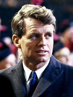 Robert Kennedy pursued a more idealistic view of the political life than is often seen today