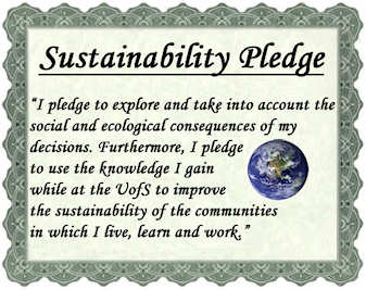 Some colleges are promoting a Sustainability Pledge for graduates; click to read more