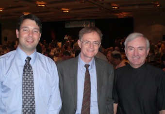 Aaron Wissner, Richard Heinberg, Jim-MacInnes at Future Michigan 2008