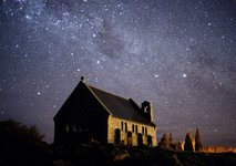 New Zealand night sky, near Lake Tekapo (South Island) - Courtesy of AP