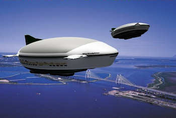 Turtle Airship's visualization of their rigid lighter-than-air craft