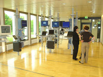 IBM Zurich research laboratory: trying to keep it cool
