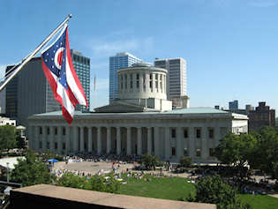 Ohio statehouse – deciding whether Ohio has a nuclear energy future