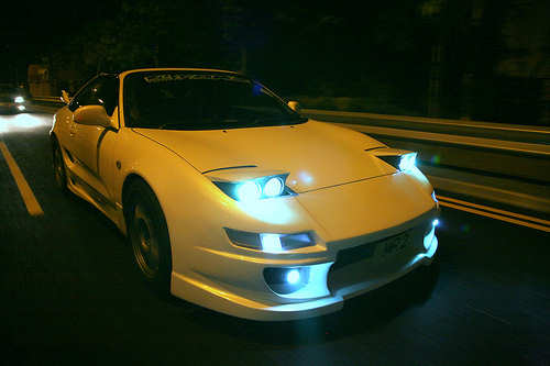 Toyota MR2 by Tom@HK; click to see video of Jane Goodall, Richard Leakey, David Attenborough, and Richard Dawkins in discussion