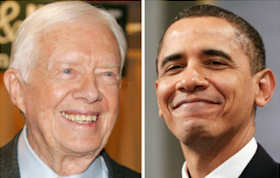President Jimmy Carter, and now President Barack Obama, were the two presidents who installed White House solar panels